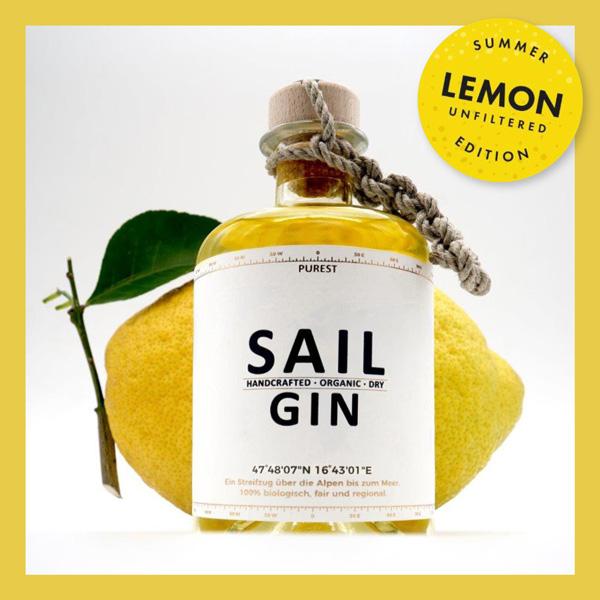 purest Sail Gin Lemon Obsthaus
