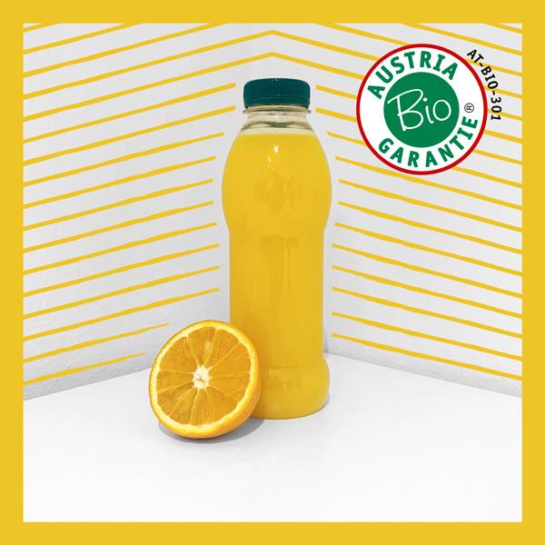 Obsthaus bio Orangensaft